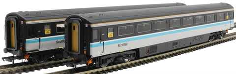 Mk3a TSO second open SC12014 and SC12030 in ScotRail livery - twin pack