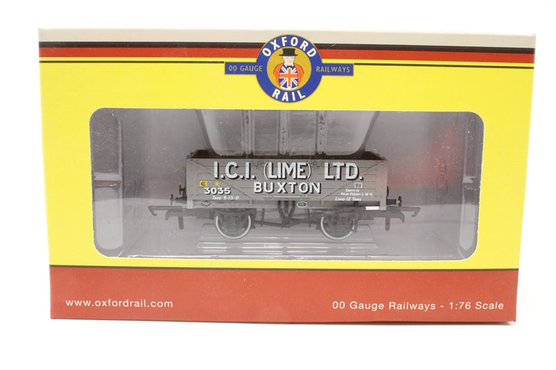 "5-plank open wagon ""ICI Lime Limited, Buxton"" - Pre-owned - Like new box"