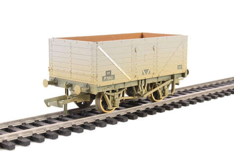 7-plank open wagon in BR grey - weathered