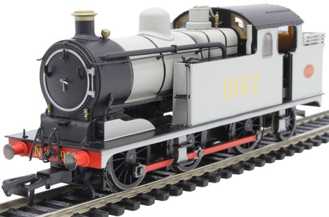 Class N7 0-6-2T 1002 in Great Eastern Railway wartime grey - DCC Sound fitted