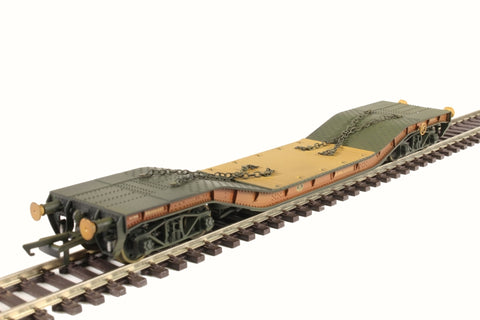 45 ton Warwell wagon in BR bauxite - weathered