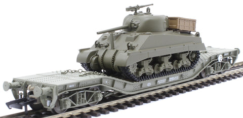 Warwell with Sherman Tank - weathered
