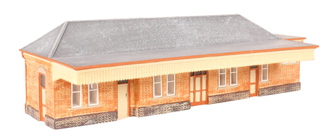 GWR brick-built station building