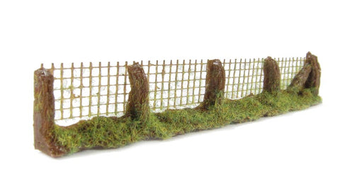 Wire post mesh fencing - 150mm