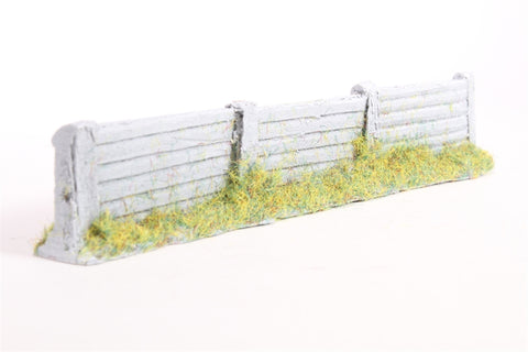 Concrete pallisade fencing - 150mm
