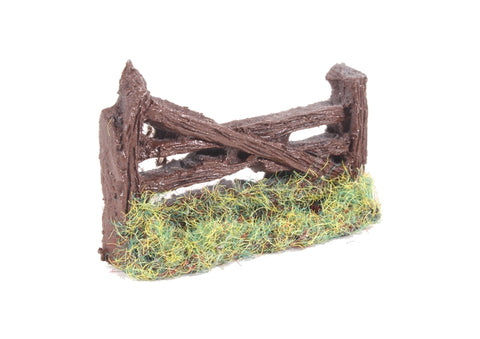Rustic wooden farm gate - 38mm
