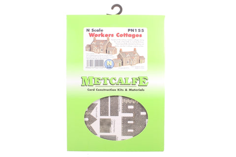Pair of Railway Workers cottages - card kit