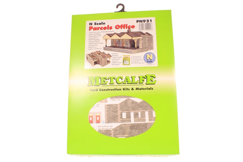 Parcels office building with canopy - card kit
