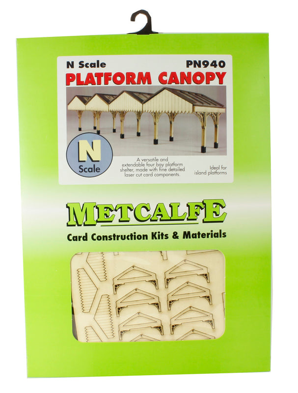4-bay platform canopy - card kit