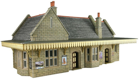 GWR-style wayside station - card kit