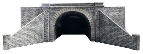 Pair of single track tunnel entrances - card kit
