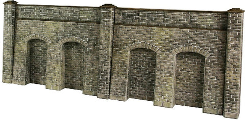 Retaining wall in stone - 4 sections per pack - card kit