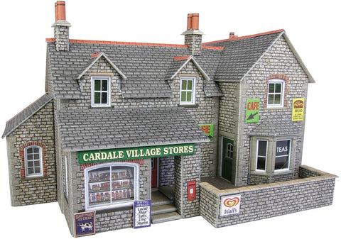 Stone-built village shop and cafe - card kit