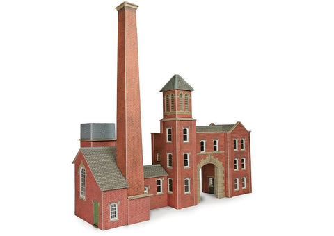 Boilerhouse and factory entrance - card kit