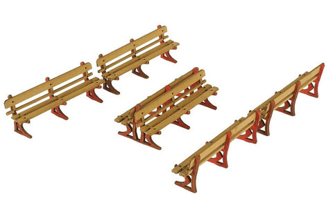 Pack of three platform benches - card kit
