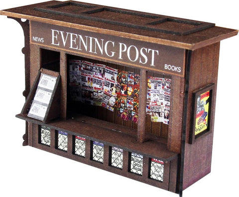 Platform newspaper kiosk - card kit