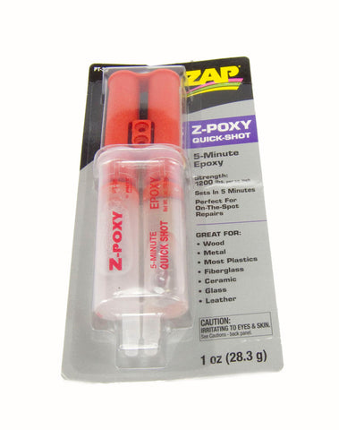 Epoxy glue Quick Shot Syringe - 1 Oz