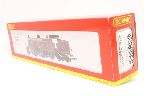 Class 4P 2-6-4T 2311 in LMS Lined Maroon - Pre-owned - some marks on bodywork - missing lamp bracket - imperfect box