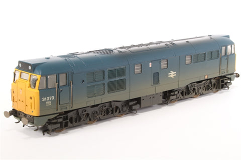 Class 31 31270 in BR blue (weathered) - Pre-owned - damaged front panel