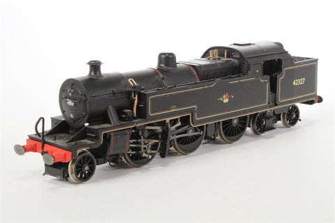 Class 4P Fowler 2-6-4T 42327 in BR Lined Black with late crest - Pre-owned - missing couplings and housing - worn detail paintwork - worn packaging edges