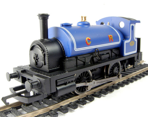 Class 0F Pug 0-4-0ST 272 in Caledonian Railway blue - Railroad range