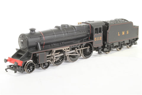 Class 5 Black 5 5112 in LMS Lined Black (Railroad Range) - Pre-owned - incorrect box