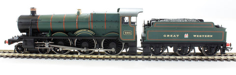Class 49xx 4-6-0 4901 'Adderley Hall' in GWR Green - Railroad range