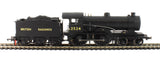 Class D16/3 'Claud Hamilton' 4-4-0 E2524 in early BR Black