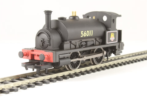 Class 0F Pug 0-4-0ST 56011 in BR black - Hornby 2014 Collectors Club special edition