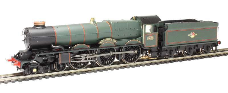 Class 6000 King 4-6-0 'King Edward VIII' in BR Late Crest Green