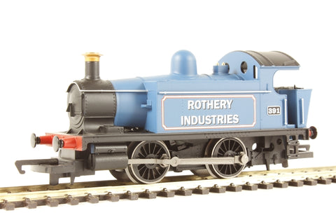ex-GWR Class 101 0-4-0 393 'Rothery Industries' - Railroad Range