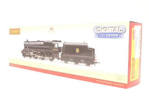 Class 5MT Black 5 4-6-0 45116 in BR black with early emblem - TTS sound fitted - Pre-owned - Like new