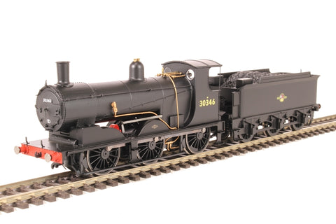 Drummond Class 700 0-6-0 30346 in BR black with late crest