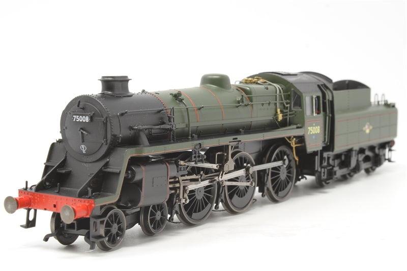 Standard Class 4MT 4-6-0 75008 in BR green with late crest - Pre-owned - like new
