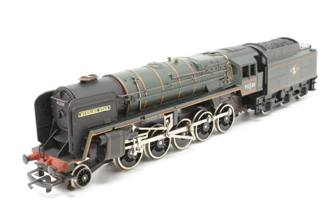 Class 9F 2-10-0 'Evening Star' 92220 in BR Green - Pre-owned - noisy runner - replacement box