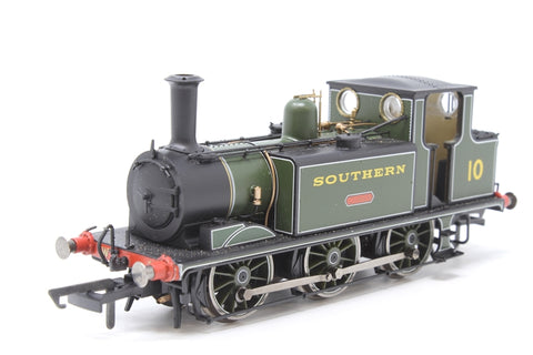 "Class A1 Terrier 0-6-0T W10 ""Cowes"" in Southern Railway olive green - Pre-owned - missing detail pack - Very good box"