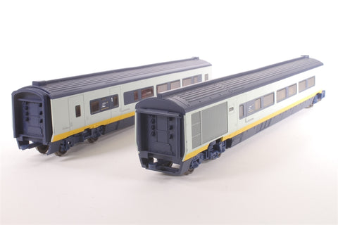Class 373 Eurostar divisible centre saloons (pack of two) - Pre-owned - marks on body - imperfect box