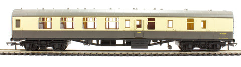 Mk1 BSK brake second corridor W34888 in BR chocolate & cream - Railroad Range