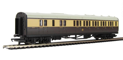 Collett brake third 5121 in GWR chocolate and cream - Railroad Range
