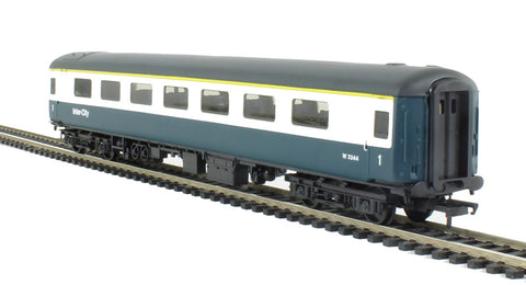 Mk2E FO first open W3244 in BR blue and grey - Railroad range