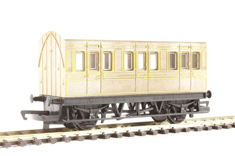 4-wheel freelance coach in LNER teak - Railroad Range