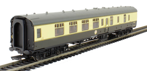 Mk1 BSK brake second corridor W34290 in BR chocolate & cream