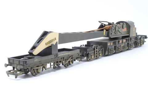 75 Ton breakdown crane with matching trucks in BR black (weathered) - Pre-owned - Like new - imperfect box