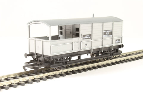 ex-GWR Toad Brake Van W68724 in BR Grey