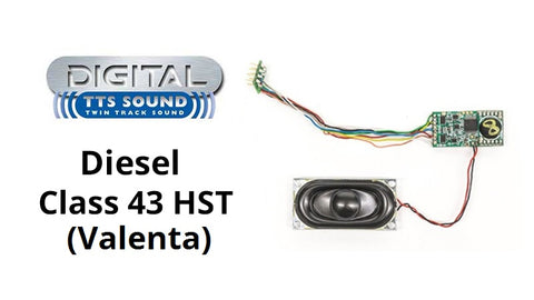 TTS digital sound decoders - Class 43 HST Valenta - Pack of two