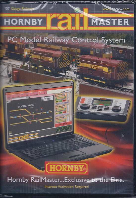 RailMaster PC Model Railway Control System CD-Rom