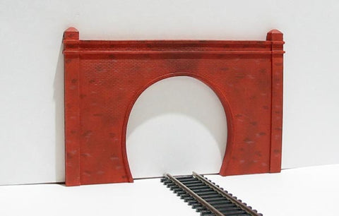 Single track brick tunnel portal - pack of two - Skaledale Range