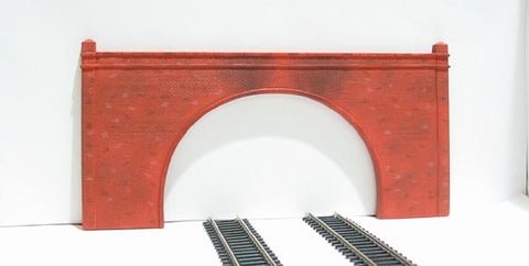 Double track brick tunnel portals - pack of two - Skaledale Range