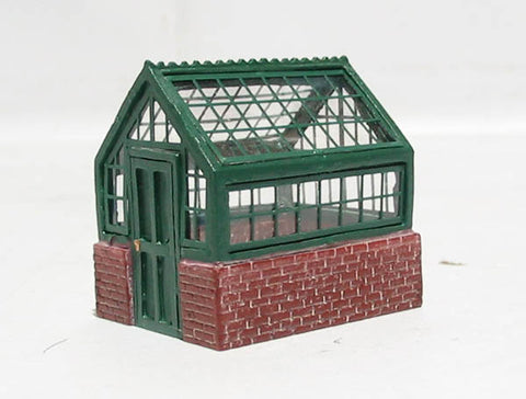 Victorian brick & glass greenhouse - Skaledale Range