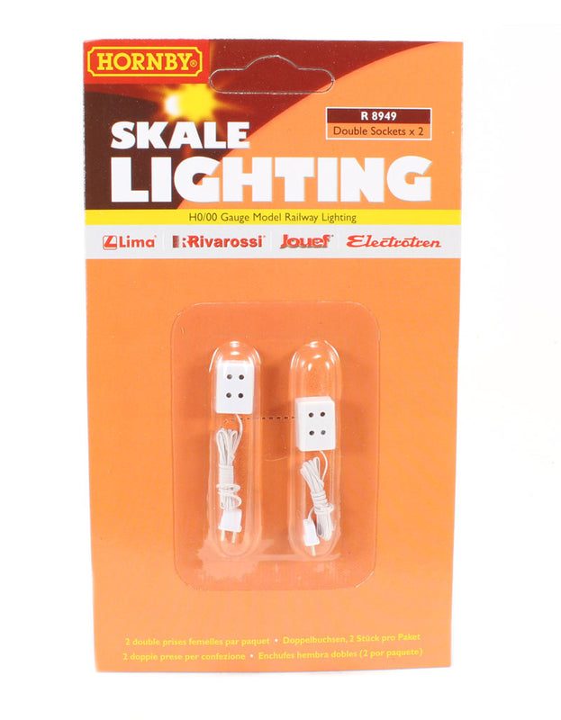 2 x double socket for Skale Lighting system